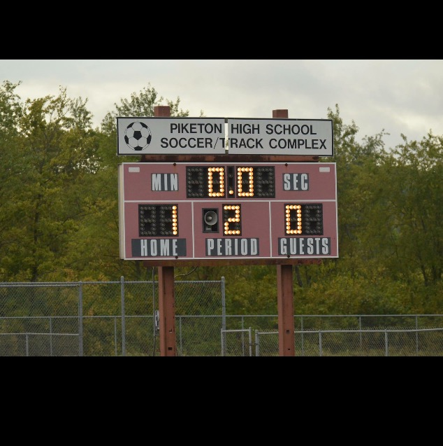The score to last nights win over west!!