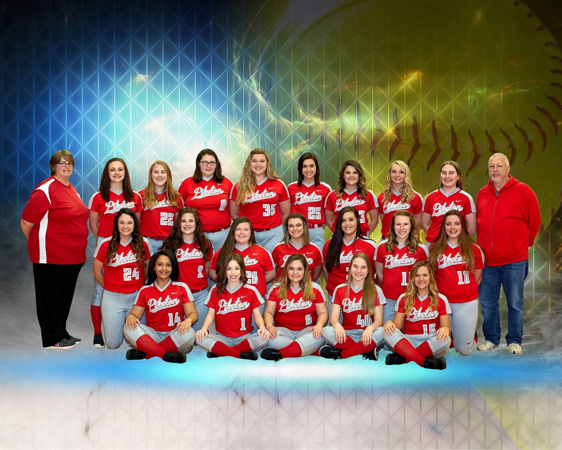 Lady Redstreaks Softball 2018
