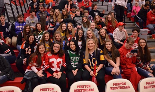 Pep Section