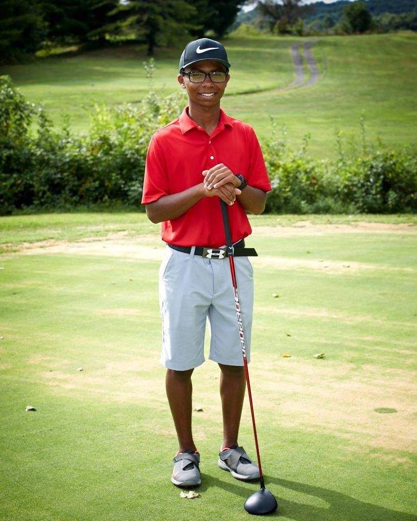 Senior Golf Denzel Endicott
